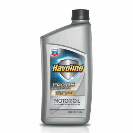 Havoline® Motor Oil Pro DS™ Full Synthetic With Deposit Shield Technology