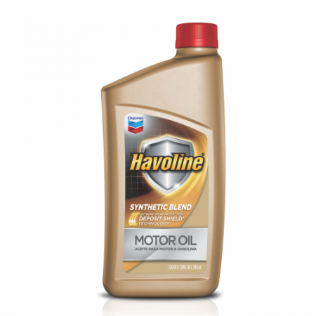 Havoline® Motor Oil Synthetic Blend With Deposit Shield Technology